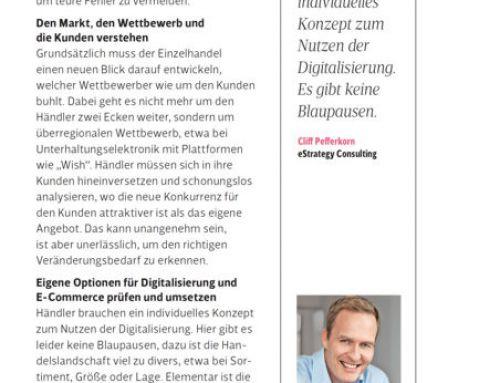 "Interview in the ""Berliner Wirtschaft"" with focus on ""digital local"""