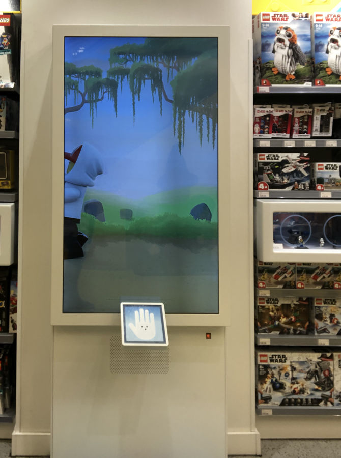 Interaktive Display für Gaming von Lego