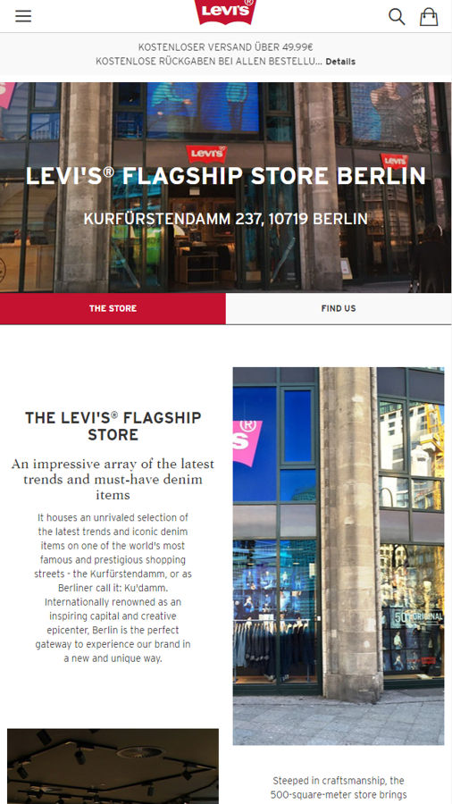 Levis Flagship Store Berlin