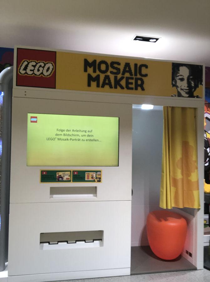 Mosaic-Maker von Lego