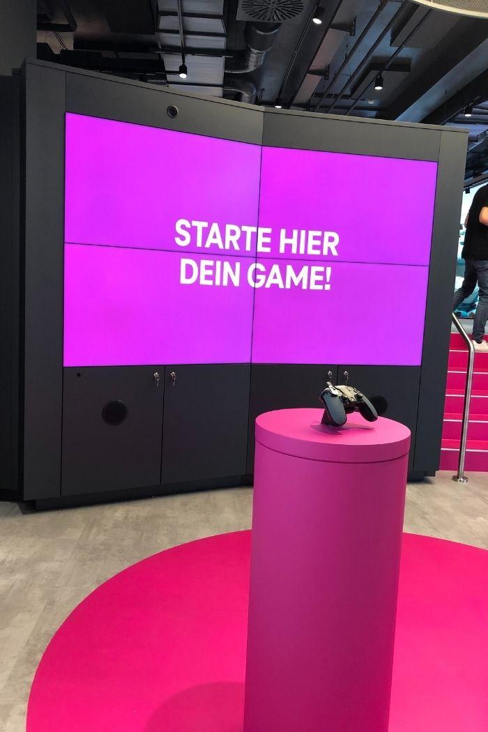 Bei Telekom kann Kunde verschiedene Spiele erwarten
